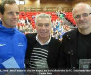 La municipalité a récompensé ses sportifs et ses bénévoles.